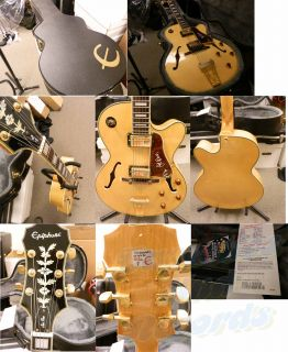 Epiphone Joe Pass Emperor II Archtop Electric Guitar w Case Mint