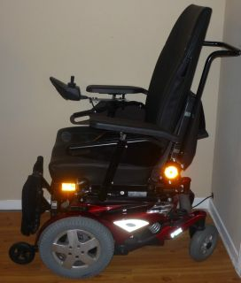few months old Invacare fdx electric wheelchair