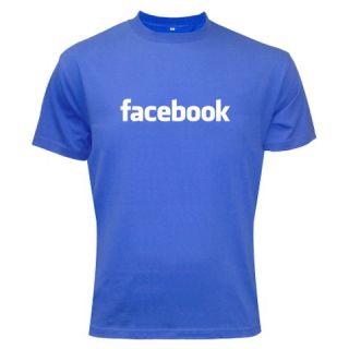 New Funny Facebook Logo Man Woman T Shirt Best Seller
