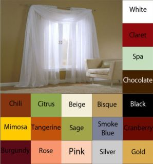 Extra Wide Sheer Curtain 84 inch Pairs Window Panels