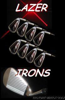Custom Golf Clubs Lazer Irons 4 SW Razer Reg Full Set