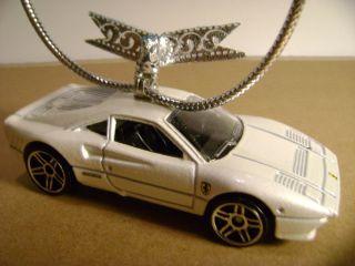 Ferrari 288 GTO Christmas Ornament 2012 Hot Wheels Diecast Metal Car