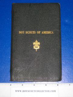 Boy Scout 1920 Field Book