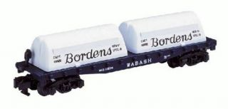 American Flyer Trains 6 48524 A F Bordens Flatcar