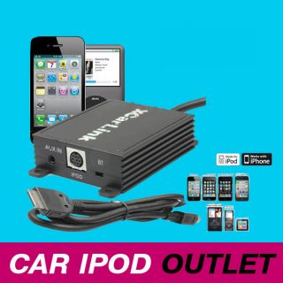 XCARLINK SKU2139 Fiat Bravo Coupe Croma Idea iPod iPhone Aux Interface