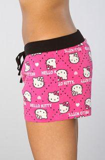 Hello Kitty Intimates The Hello Kitty Print Shorts in Pink  Karmaloop