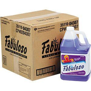Fabuloso All Purpose Cleaner 4 Count 1 Gallon Each