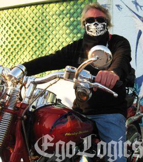 Savages Movie White Skull Black Bandana Half Face Mask Modern Warfare
