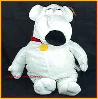 Family Guy Dog Plush 16 Brian Toy Stuffed Animal w Tag