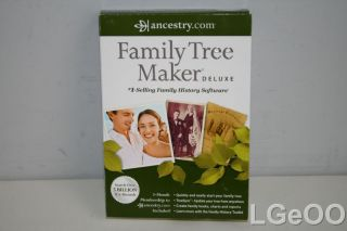new family tree maker deluxe 2012 product condition brand new