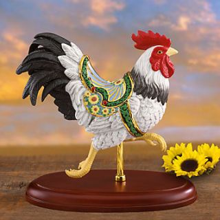 Lenox Carousel Rooster Figurine Limited Edition New COA