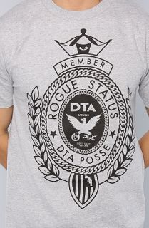 DTA   Rogue Status The Big Crest Tee Concrete