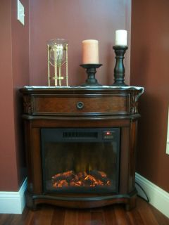 FREE STANDING PORTABLE ELECTRIC FIREPLACE W REMOTE VENT FREE STOVE