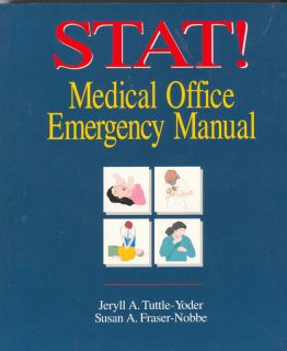 Stat Medical Office Emergency Manual First Aid Book 082736489X