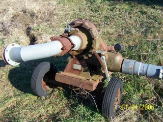 Gorman Rupp PTO Driven Irrigation Pump on Wheels