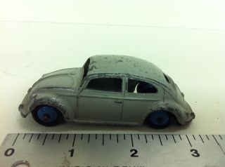 Vintage Dinky Toys Volkswagen Beetle / Bug Meccano car made in England