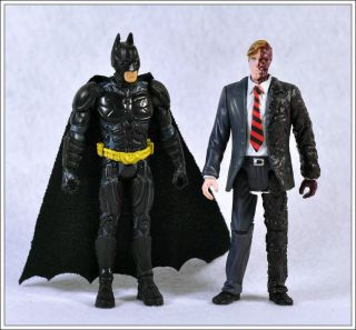 Two Face The Dark Knight Movie Action Figure Loose Toys DC MJ04
