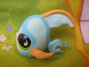 "Littlest Pet Shop LPS ""Fish"" Figure"