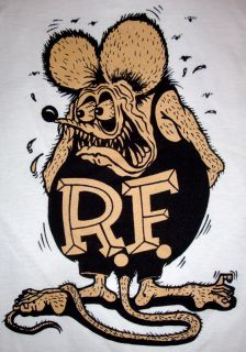 Vtg Rat Fink T Shirt Hot Rat Rod Rockabilly Ed Big Daddy Roth Drag