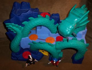 Fisher Price Imaginext Dragon World Fortress Castle Sea Dragon Island