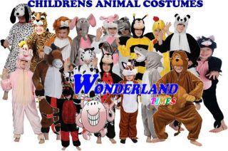 Fancy Dress Costume Boys Girls Childs Outfit Wild Farm