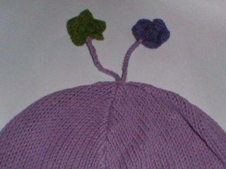 Gap Kids Purple Flower Scarf and Hat Set NWT Fall 2000
