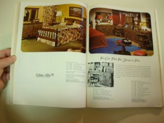 Ethan Allen Treasury Catalog 1968 Early American Furniture Decorating