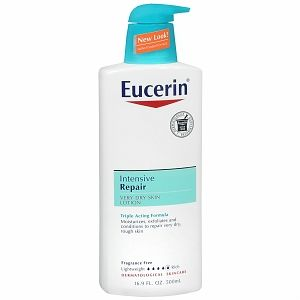 Eucerin Plus Intensive Repair Lotion 16 9 FL oz 500 Ml