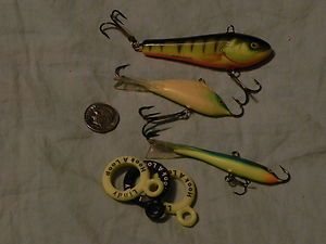 Ice Fishing Fish Icefishing Jigs Lures Tackle Hooks Bait Cubby Darter