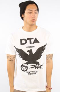 DTA   Rogue Status The DTA Eagle New Tee in White