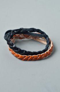 Native Vibe Jewelry Braided Leather Bracelet 2 Pack Set  Karmaloop