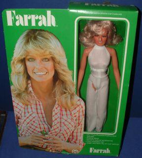 1977 Farah Fawcett Majors Doll Mego in Orig Box ABC Charlies Angels