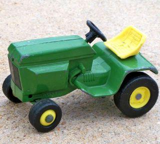 1970s Ertl JOHN DEERE Lawn & Garden Tractor 1:16 Farm