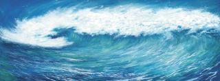 Beach Surf OCEAN WAVE Wallpaper Wall Decor Mural