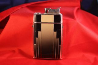 Vintage Art Deco Evans Cigarette Lighter Case Combo