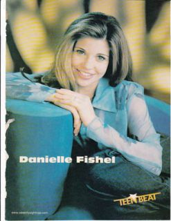 Danielle Fishel Jason James Richter Teen Celebrity Pinup Clipping
