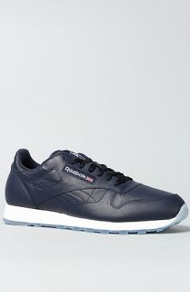 Reebok The Classic Leather Ice Sneaker in Athletic Blue  Karmaloop