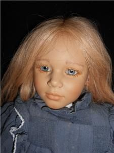 Annette Himstedt Malin 30 World Children Doll w Original Box Outfit