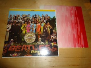 The Beatles Sgt Peppers Lonely Hearts Vinyl Record Capitol Rainbow