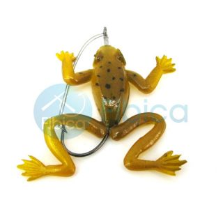 promotions general interest bass trout soft fishing bait frog lure