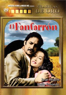 El Fanfarron DVD New Jorge Negrete Emilio Fernandez Clasicas de Oro