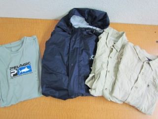 ExOfficio Pelagic Angler Fishing Shirts Lot Mens Size XL Extra Large