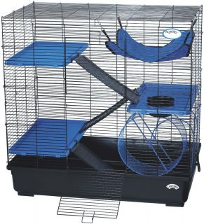 Exotic Small Animal Pets Rat Cage Exercise Playpen Container Crate