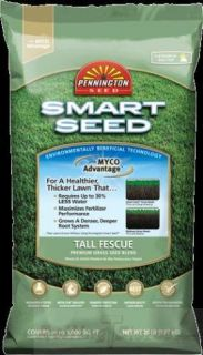Tall Fescue Blend Lawn Grass Seed Smart Seed 7 Lbs