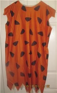 Fred Flinstone Halloween Costume Men Extra Large XL