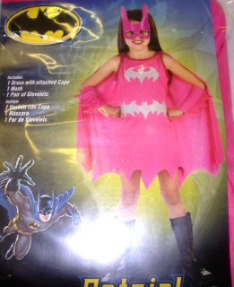 Batgirl Bat Girl Pink Girls Costume XL 14 16 NIP