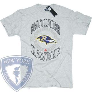 BALTIMORE RAVENS T SHIRT JOE FLACCO NFL FOOTBALL LOGO COLOR CHANGE TEE