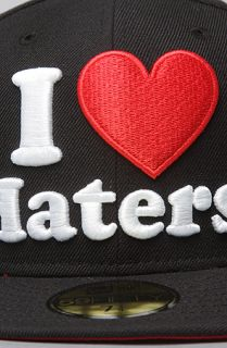 DGK The Haters New Era Cap in Black White