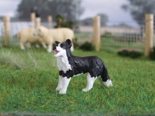 32 Scale Lead Free Sheep Dog Collie for Britains Siku Farm Garden