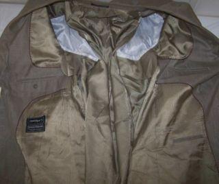 50XL Giorgio Ferraro Super 120s Light Olive Sport Coat Jacket Suit